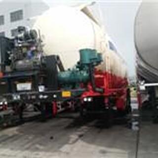 山东生产水泥罐运输散装水泥罐车新设计50立方超轻型罐车图片2