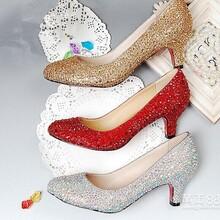 制鞋厂定做时装服饰婚鞋货源加工欧美外贸高跟鞋时尚真皮女单鞋