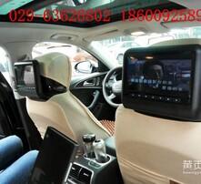 加装专用头枕,后排娱乐系统,高清头枕屏,三屏互动系统图片