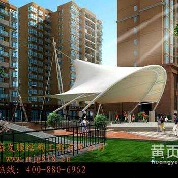 【广场景观膜结构价格_沧州人民广场景观膜结构、商场顶棚膜结构、