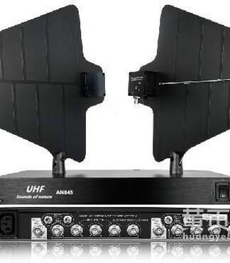 向性U段可调频无线话筒/麦克风天线分配器信号放大器AN845_图片