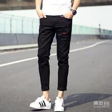 2015重庆寰奥牛仔裤厂家批发男装牛仔裤批发定做韩版牛仔裤加工定做厂家直销