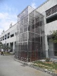 北京固定式液压升降货梯链条固定式升降平台液压升降机图片