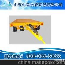 电磁刹托盘平板拖车组图片