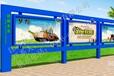 安徽池州宣传栏镀锌板宣传栏制作建党节素材精神堡垒公交站台